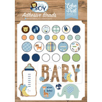 Echo Park - Baby Boy Collection - Self- Adhesive Decorative Brads