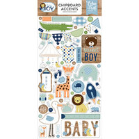 Echo Park - Baby Boy Collection - Chipboard Stickers - Accents
