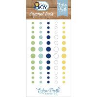 Echo Park - Baby Boy Collection - Enamel Dots