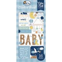 Echo Park - Baby Boy Collection - Cardstock Sticker Book