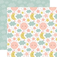Echo Park - Baby Girl Collection - 12 x 12 Double Sided Paper - Dream Big