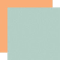 Echo Park - Baby Girl Collection - 12 x 12 Double Sided Paper - Blue