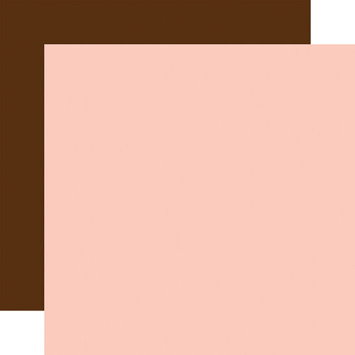 Echo Park - Baby Girl Collection - 12 x 12 Double Sided Paper - Light Pink