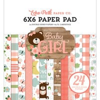 Echo Park - Baby Girl Collection - 6 x 6 Paper Pad