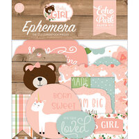 Echo Park - Baby Girl Collection - Ephemera