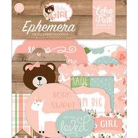 Echo Park - Baby Girl Collection - Ephemera