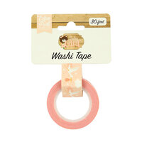 Echo Park - Baby Girl Collection - Decorative Tape - Stork