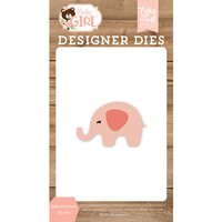 Echo Park - Baby Girl Collection - Decorative Dies - Baby Elephant