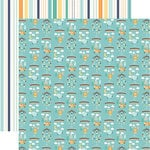 Echo Park - Hello Baby Boy Collection - 12 x 12 Double Sided Paper - Boy Mobiles