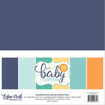 Echo Park - Hello Baby Boy Collection - 12 x 12 Paper Pack - Solids
