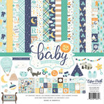 Echo Park - Hello Baby Boy Collection - 12 x 12 Collection Kit
