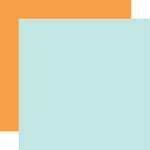 Echo Park - Hello Baby Boy Collection - 12 x 12 Double Sided Paper - Light Blue