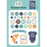 Echo Park - Hello Baby Boy Collection - Decorative Brads