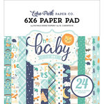 Echo Park - Hello Baby Boy Collection - 6 x 6 Paper Pad