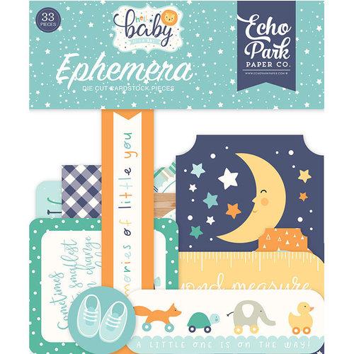 Echo Park - Hello Baby Boy Collection - Ephemera