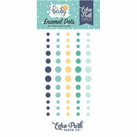 Echo Park - Hello Baby Boy Collection - Enamel Dots
