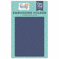 Echo Park - Hello Baby Boy Collection - Embossing Folder - Shining Stars