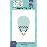 Echo Park - Hello Baby Boy Collection - Designer Dies - Baby Balloon
