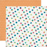 Echo Park - Birthday Collection - Boy - 12 x 12 Double Sided Paper - Cupcakes