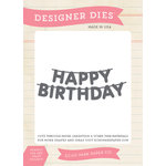 Echo Park - Birthday Collection - Boy - Designer Dies - Happy Birthday Banner