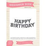 Echo Park - Birthday Collection - Boy - Designer Dies - Happy Birthday Banner