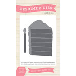 Echo Park - Birthday Collection - Boy - Designer Dies - Birthday Cake Slice