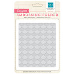 Echo Park - Birthday Collection - Boy - Embossing Folders - Layered Scallops