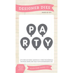 Echo Park - Birthday Collection - Girl - Designer Dies - Party Balloons