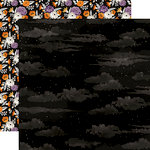 Echo Park - Bewitched Collection - Halloween - 12 x 12 Double Sided Paper - Spooky Night