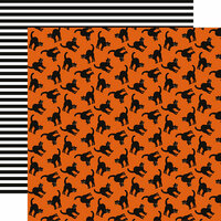 Echo Park - Bewitched Collection - Halloween - 12 x 12 Double Sided Paper - Black Cats