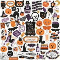 Echo Park - Bewitched Collection - Halloween - 12 x 12 Cardstock Stickers