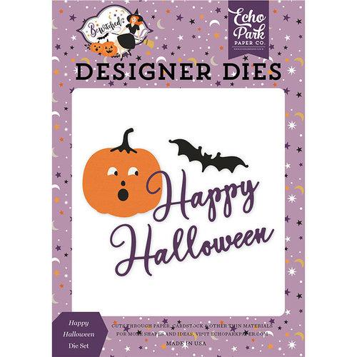 Echo Park - Bewitched Collection - Halloween - Designer Dies - Happy Halloween