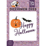 Echo Park - Bewitched Collection - Halloween - Designer Dies - Happy Halloween