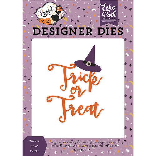 Echo Park - Bewitched Collection - Halloween - Designer Dies - Trick or Treat Hat