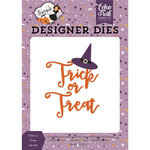 Echo Park - Bewitched Collection - Halloween - Designer Dies - Trick or Treat Hat