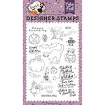 Echo Park - Bewitched Collection - Halloween - Clear Acrylic Stamps - Ghosts and Goblins