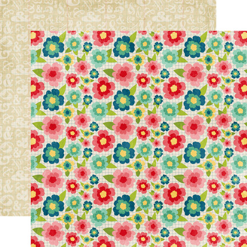 Echo Park - Beautiful Life Collection - 12 x 12 Double Sided Paper - Floral