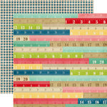Echo Park - Beautiful Life Collection - 12 x 12 Double Sided Paper - Rulers