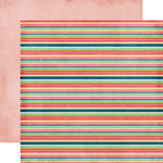 Echo Park - Beautiful Life Collection - 12 x 12 Double Sided Paper - Stripes