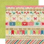 Echo Park - Beautiful Life Collection - 12 x 12 Double Sided Paper - Borders