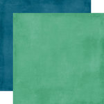 Echo Park - Beautiful Life Collection - 12 x 12 Double Sided Paper - Teal