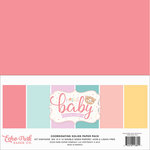 Echo Park - Hello Baby Girl Collection - 12 x 12 Paper Pack - Solids