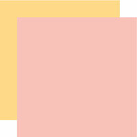 Echo Park - Hello Baby Girl Collection - 12 x 12 Double Sided Paper - Light Pink