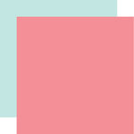Echo Park - Hello Baby Girl Collection - 12 x 12 Double Sided Paper - Dark Pink