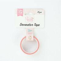 Echo Park - Hello Baby Girl Collection - Decorative Tape - Baby Girl Alphabet