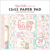 Echo Park - Hello Baby Girl Collection - 12 x 12 Paper Pad