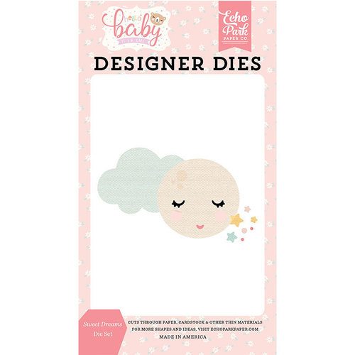 Echo Park - Hello Baby Girl Collection - Designer Dies - Sweet Dreams