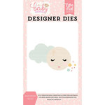 Echo Park - Hello Baby Girl Collection - Designer Dies - Sweet Dreams