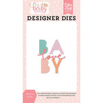 Echo Park - Hello Baby Girl Collection - Designer Dies - Baby Love