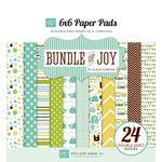 Echo Park - Bundle of Joy Collection - Boy - 6 x 6 Paper Pad